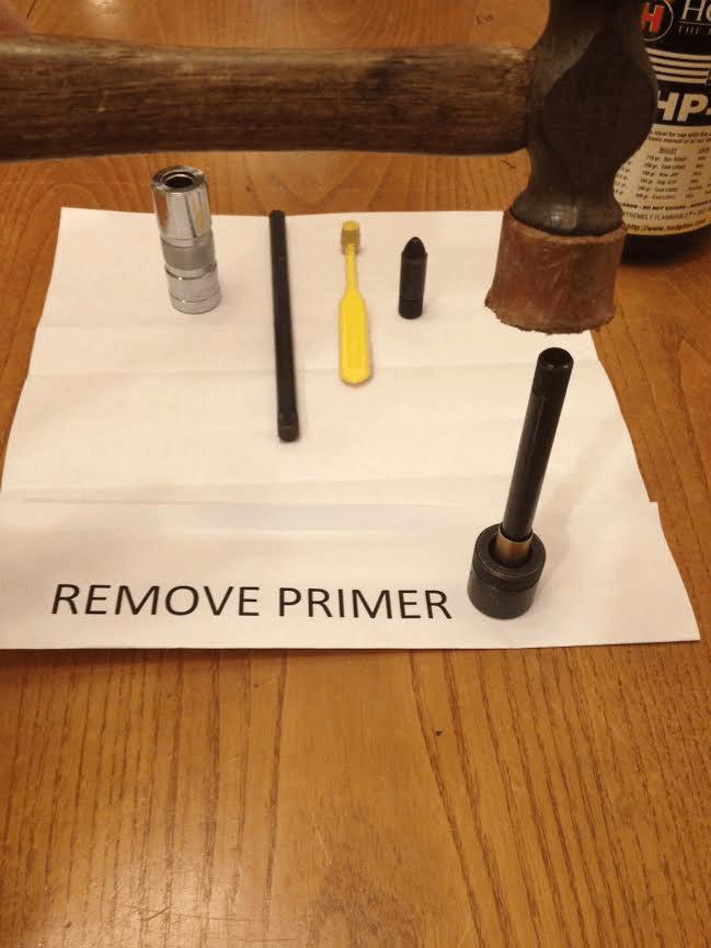remove primer