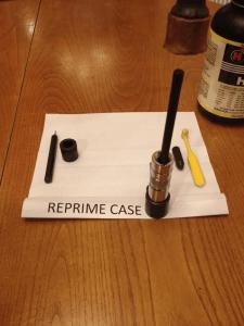 reprime the case