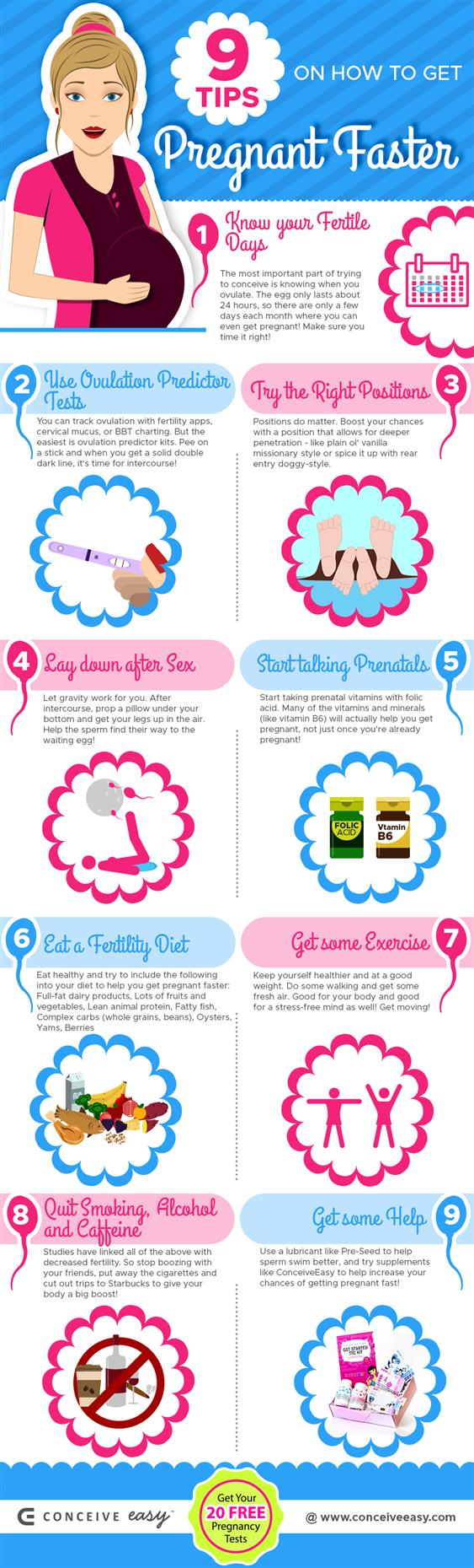 How to Get Pregnant Fast: 9 Dos and Don'ts   ConceiveEasy.com