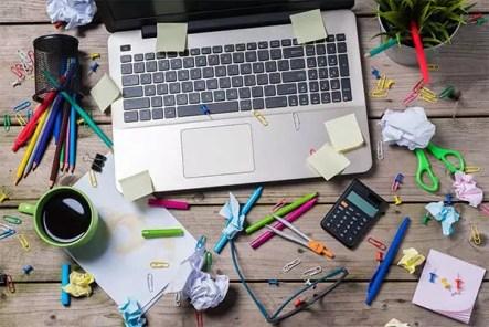 Strukturiere deinen Arbeitsplatz richtig, um konzentrierter zu sein