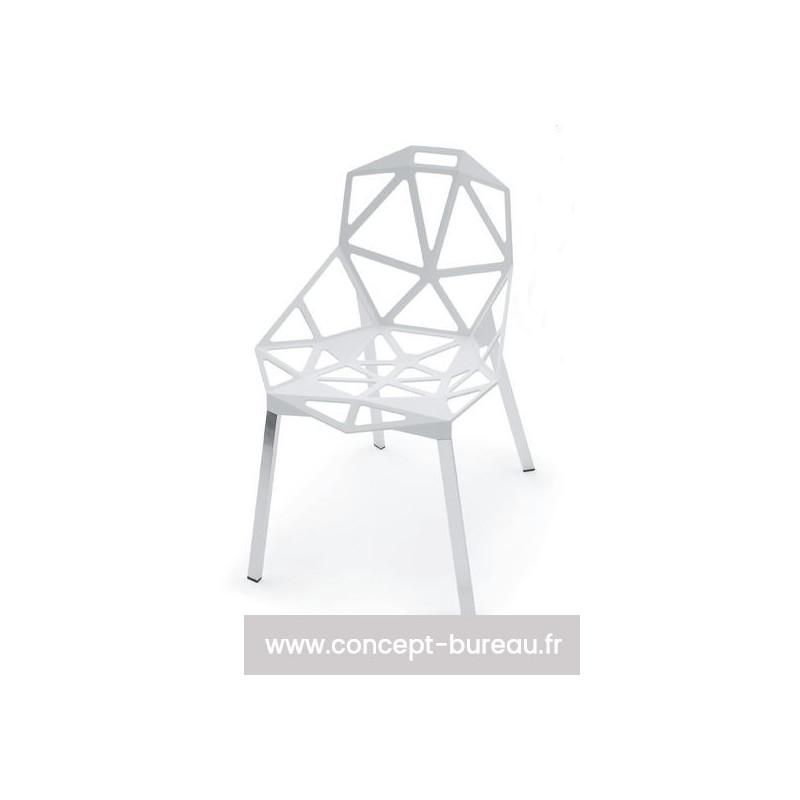 chaise interieur exterieur chair one de magis