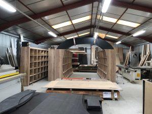 aménagement fabrication espace professionnel