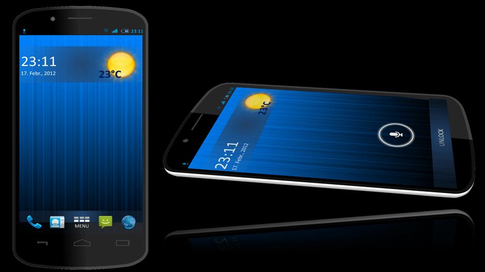 Samsung Galaxy Nexus Concept + et un nouveau design pour Android 5.0 UI