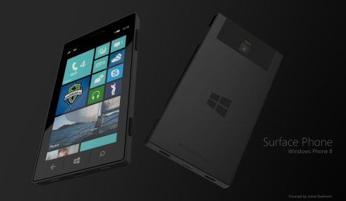 Microsoft Surface Phone is Inspired by the MS Surface Tablet