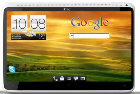 HTC One Tablet Render, Inspired by HTC One X