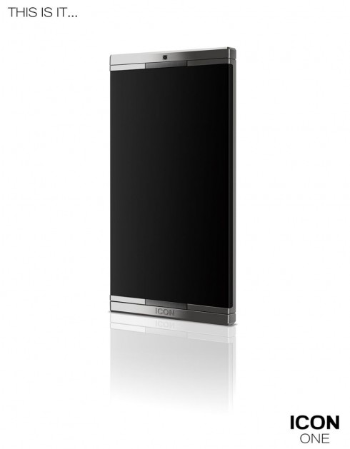 Icon One Smartphone Concept is Metallic, Edge to Edge, Revolutionary