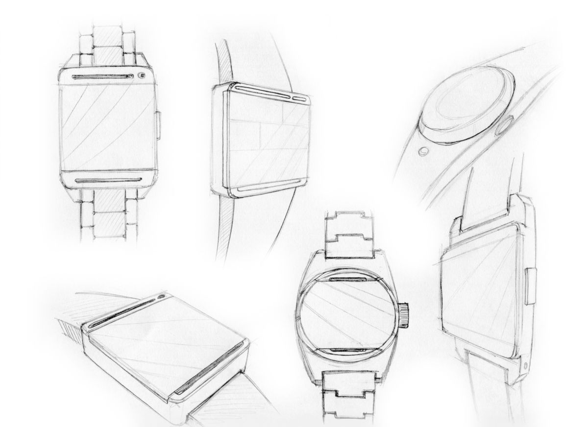 HTC Smart Watch Design by Snake Chang is Clearly Inspired
