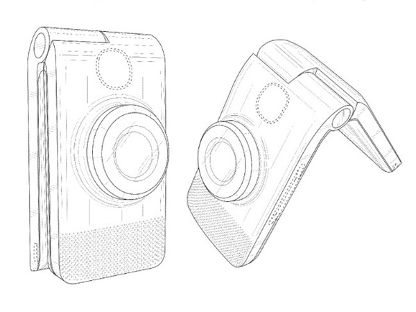 Google Gets Patent for Folding Clamshell Cameraphone