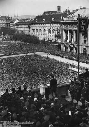 Anschlussverkündung 15. März 1938