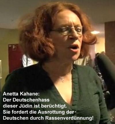 Jüdische Völkermord-Aktivistin Kahane