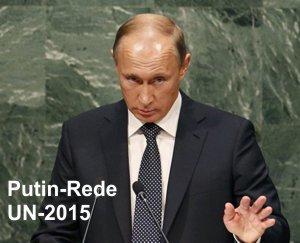 Putin vor den UN 2015