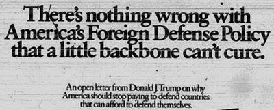 Trump to the People 1987