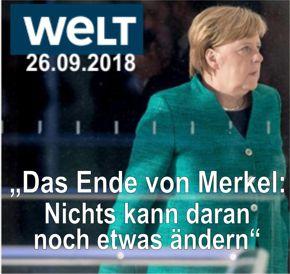 Merkels Sturz DIE WELT