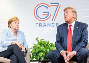 Merkel-Furz in Biarritz am Ende