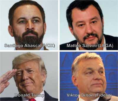 Gesichter der Neuen Nationalen Weltordnung
