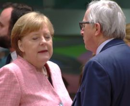 Ratlose Gesicher in Brüssel zu Trumps Entscheidungen