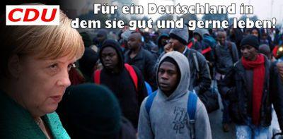 Merkels Umvolkung