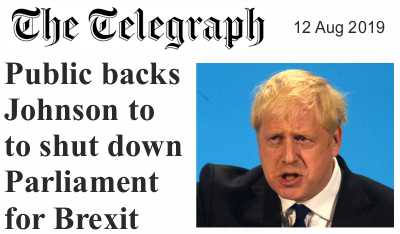 Parliament shut-down für den harten Brexit