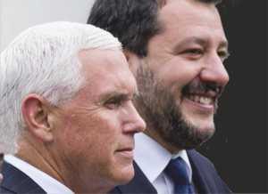 Pence und Salvini WH 17.06.2019