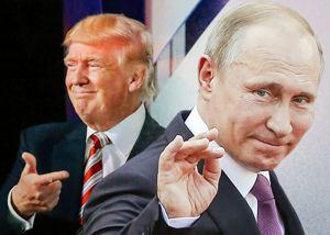 Putin und Trump verspotten Kriegs-Hysteriker