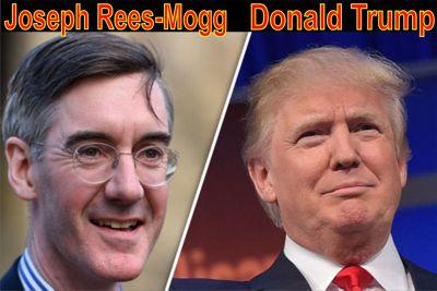 Rees-Mogg und Trump