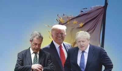Der Dreizack im Krieg gegen die EU