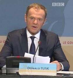 Tusks Kapitulationsrede am 7. März 2018