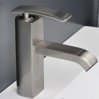 Bathroom Faucet Brushed Nickel Ouli M11001-081b ...