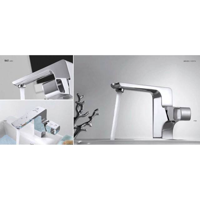CBI Hestia Single Hole Bathroom Faucet in Chrome CL JDL on