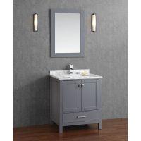 Buy Vincent 30 Inch Solid Wood Double Bathroom Vanity in ...