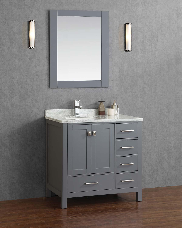 Grey Vanity Bathroom