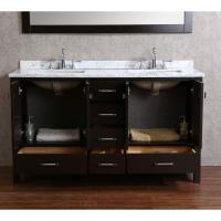 real wood bathroom vanities - 28 images - buy vnicent 60 ...