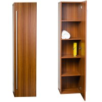 Buy 16 x 67 Linen Cabinet in Walnut TN-N1200-SC-TK on ...