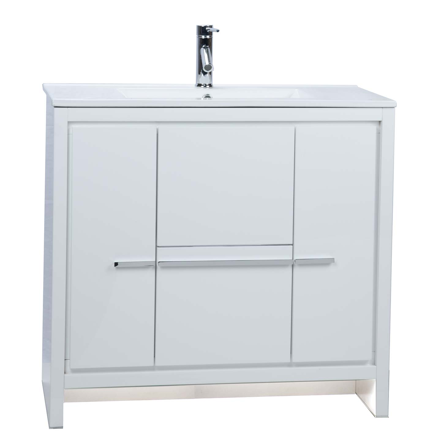 Buy CBI Enna 36 Inch Modern Bathroom Vanity High Gloss
