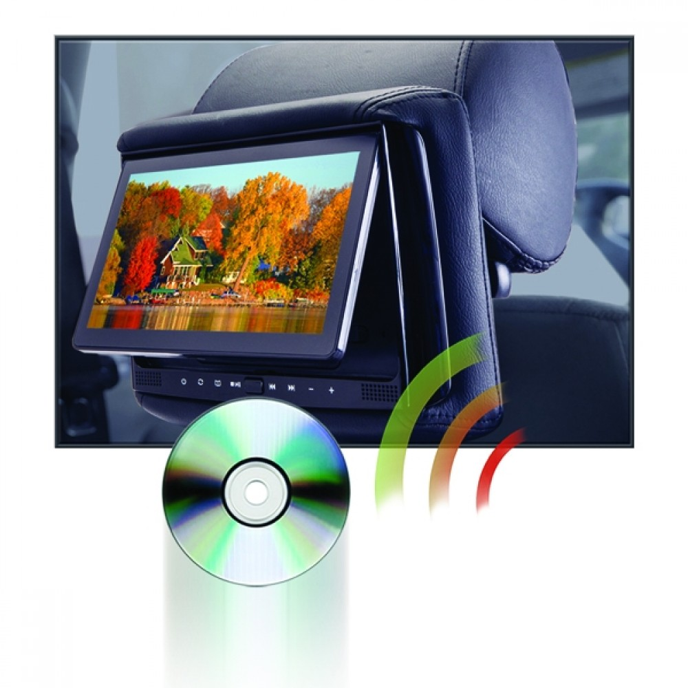 medium resolution of rsd 905m 9 lcd headrest w wireless screencasting and build in