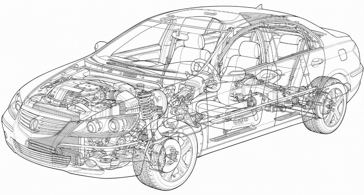 2007 Acura RL Image. Photo 14 of 69