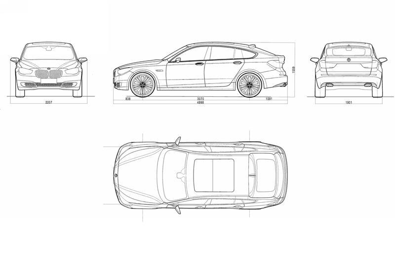 2009 BMW Concept 5 Series Gran Turismo Image. https://www