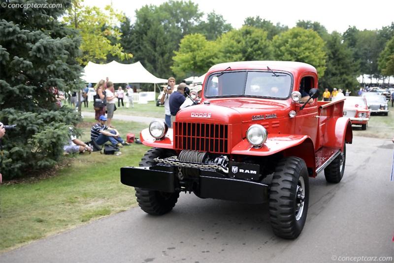 1954 Dodge Power Wagon Information