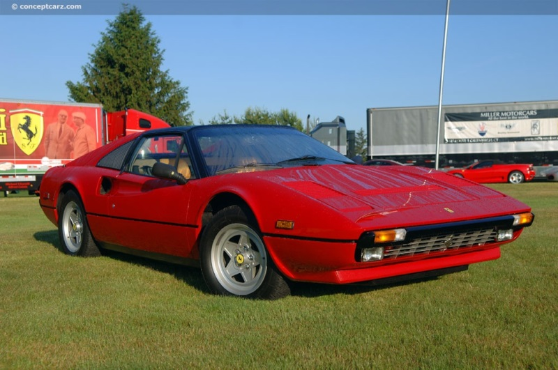 1985 Ferrari 308 Quattrovalvole Image Chassis Number 53887