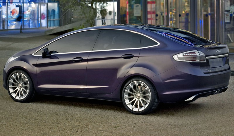 2007 Ford Verve Sedan Concept Image Photo 2 Of 5
