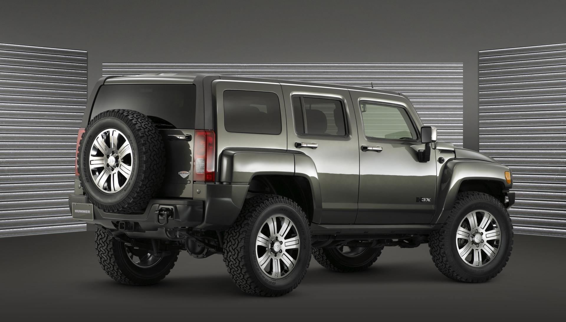 2009 Hummer H3 X Concept Pictures News Research Pricing