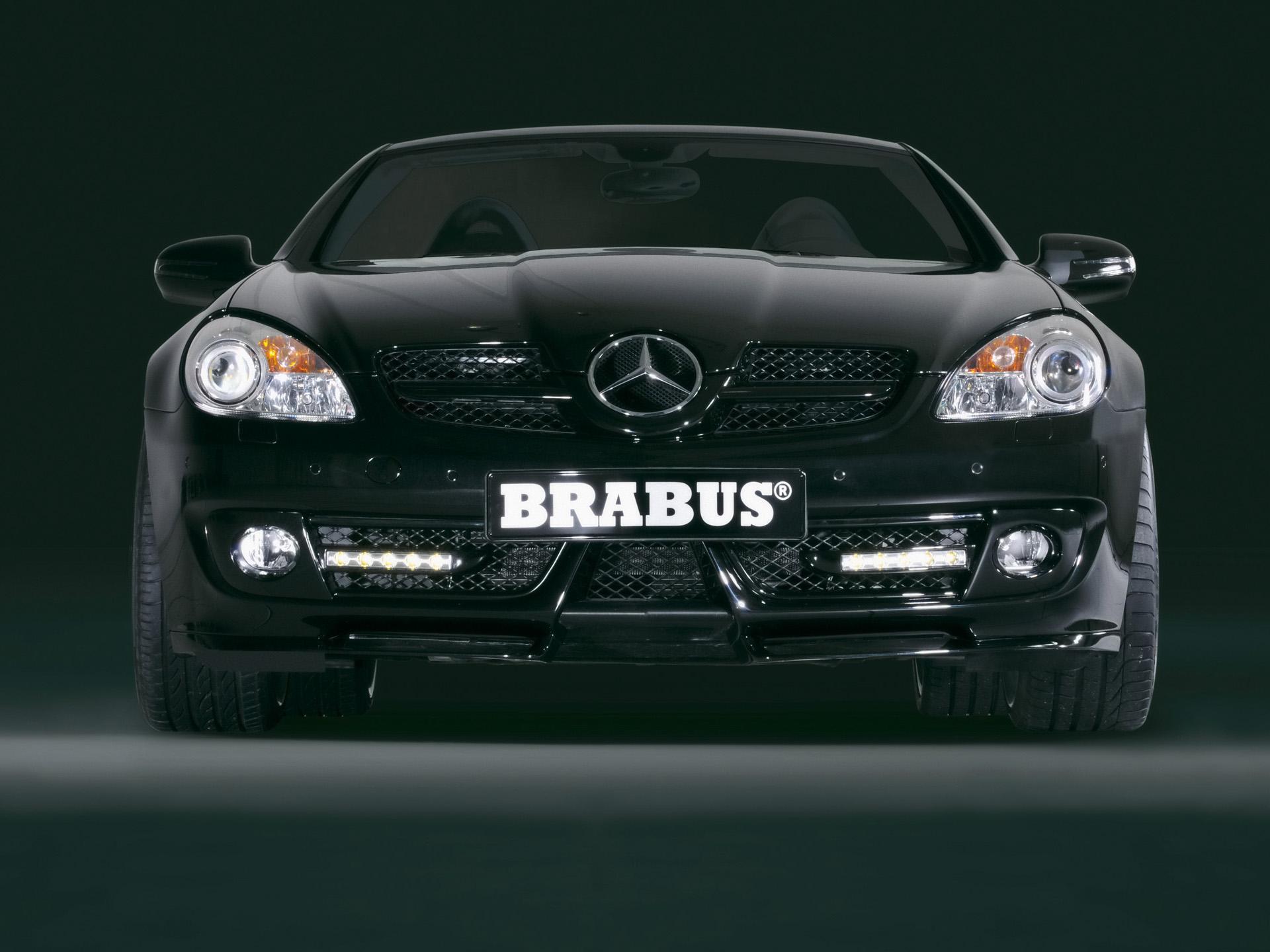 Complete Black Wallpaper 2008 Brabus Slk News And Information Conceptcarz Com