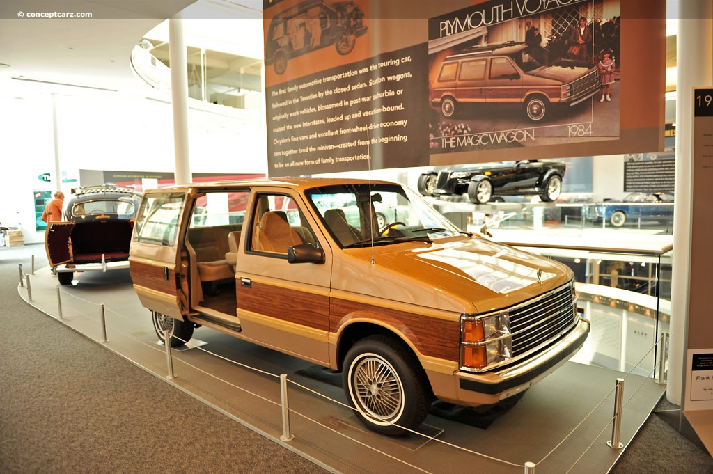 1984 Plymouth Voyager Pictures History Value Research