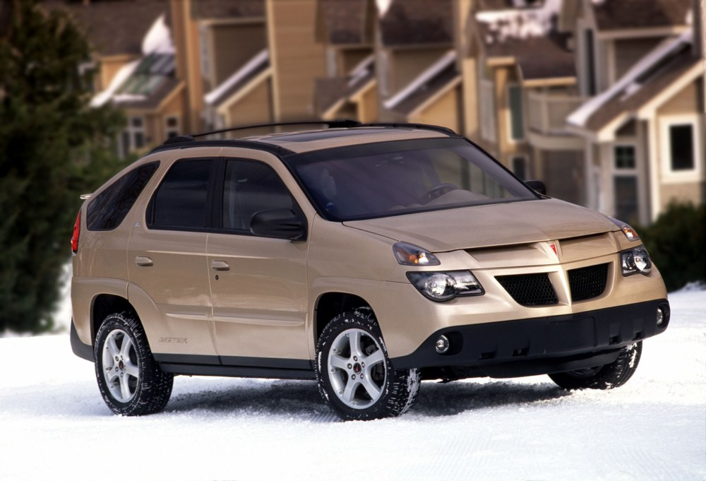 medium resolution of 2003 pontiac aztek history pictures value auction sales research and news