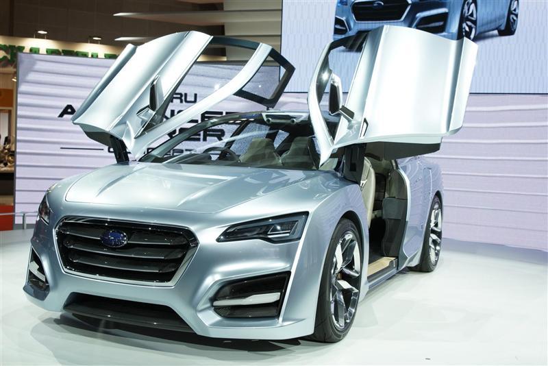 2012 Subaru Advanced Tourer Concept Image