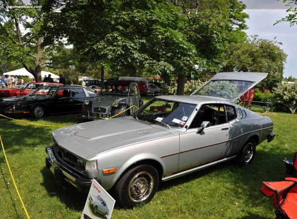 1977 Toyota Celica GT at the Greenwich Concours European