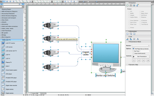 small resolution of cctv network diagram software electrical drawing software