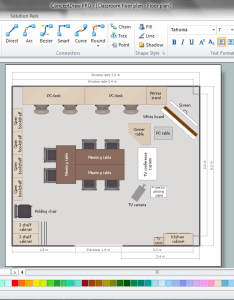 Classroom seating chart maker also rh conceptdraw
