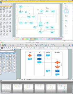 How to create  cross functional flowchart also draw process maps rh conceptdraw