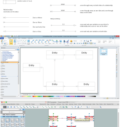 entity relationship diagrams erd illustrates the logical structure of databases the vector graphic diagrams produced when using the conceptdraw erd  [ 1120 x 2082 Pixel ]